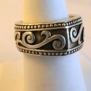 Signed Brighton Sterling Silver Ring